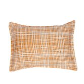 Plaid Boudoir Cotton Pillow