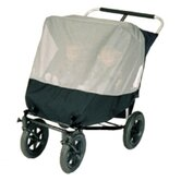 Mountain Buggy Urban Double Jogger Stroller Sun Bug Cover
