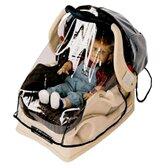 Infant Carrier / Car Seat Rain and Weather Shield