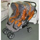 Baby Jogger City Mini Double Rain Cover