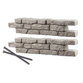 RockLock Straight Wall Pack with Spikes (Pack of 2)