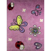 Merna Light Purple Kids Rug