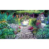 Welcome Garden Gate Doormat
