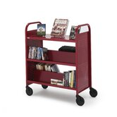 Voyager Series Book &amp; Utility Truck with Flat Upper Shelf