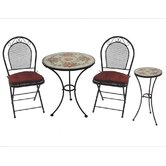 Charleston 3 Piece Bistro Set