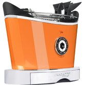 "930W Toaster ""Volo"" in Schwarz matt / Orange"