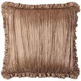 "Swanson 18"" x 18"" Pillow with Pleated Fringes"