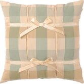"Chesapeake 14"" x 14"" Pillow with Ribbon"