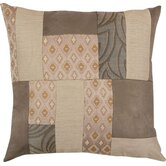 "Biltmore 18"" x 18"" Pillow with Self Cord in Patchwork"