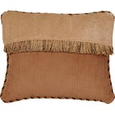 Woodland Pillow with Cord and Brush Fringe