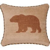 Woodland Pillow with Cord and Appliqué