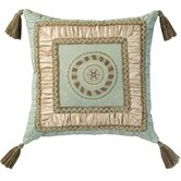 Fortune Pillow with Braid and Tassels