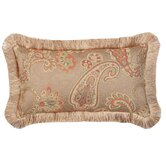 Alamosa Pillow with Brush Fringe, Reversible