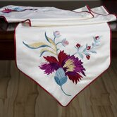 China Floral Table Runner