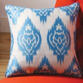 Ikat Decorative Pillow with Self Cord III