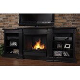 "Fresno 72"" TV Stand with Gel Fireplace"