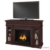 Lannon 51&quot; Ventless TV Stand with Gel Fireplace