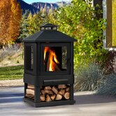 Trestle Wood-Burning Fire Pit