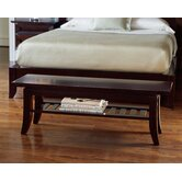 Bancroft Cherry Bedroom Bench