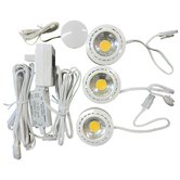 Undercabinet LED Puck Light (Pack of 3)