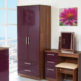Knightsbridge Tall Wardrobe with 2 Drawers