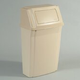Slim Jim Wall Mounted Waste Container - 15 Gallon