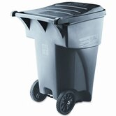 Brute Rollout Heavy-Duty Waste Square Container, 95 Gal