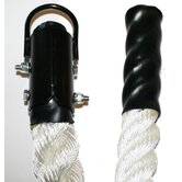 "Nylon Rope with Plyometric Ends and Metal Clamp - 1.5"" Diameter"