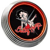 Betty Boop Neon Clock