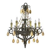 Dorato 6 Light Chandelier