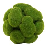 Small Moss Sphere in Moss Green