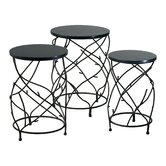 Branch Drum Plant Stand (Set of 3)