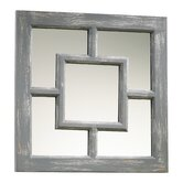 Ashbury Mirror in Distressed Gray