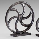 Gear Sculpture 2 in Bronze