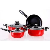 Venice Aluminum 7-Pieces Cookware Set