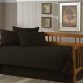 Paramount 5 Piece Twin Daybed Set in Solid Black