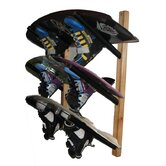 Del Sol Racks Wakeboard Storage 3 Space Angle