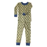 Fishin' Bears Organic Cotton PJ Snuggly