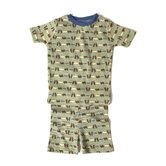 Fishin' Bears PJ Short Set
