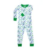 Ever-Green Peace Boy Organic  PJ Snuggly