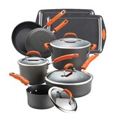 Hard Anodized II 12-Piece Cookware Set