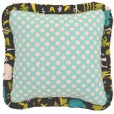 Gus Full Nursery Turquoise Dot Pillow