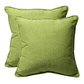 Decorative Square Toss Pillow (Set of 2)