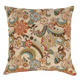 Floral Splash Polyester Floor Pillow