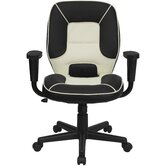Mid-Back Vinyl Steno Executive Chair