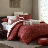 Harmony Mini Bedding Collection in Red