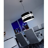Disc II Gloss Three Light Single Pendant