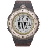Expedition Digital Compass Leather Watch