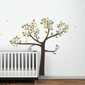 Follow the Little Rabbit Tree Wall Decal