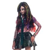 Zombies Long Black Wig